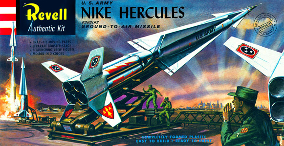 Nike Hercules - Revell - Original Box Art
