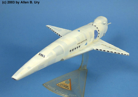 Pan Am Space Clipper 1 144 Model Kit By Aurora