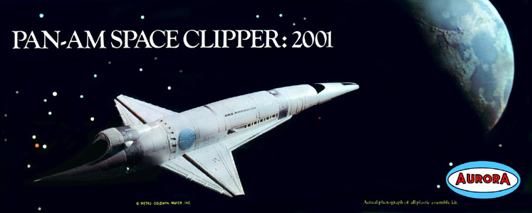 Pan Am Space Clipper Aurora Box Art