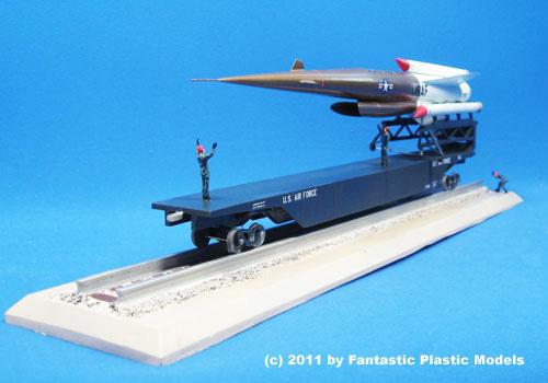 Project Pluto (SLAM) 1:72 Resin Model Kit by Fantastic Plastic