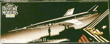 Chance Vought Regulus II - Revell History Maker's Box Art