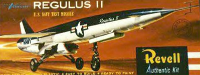 Chance Vought Regulus II - Revell Original Box Art