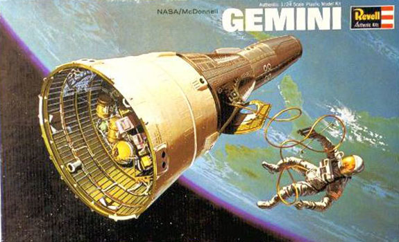 Gemini Spacecraft - Revell - Original Box Art
