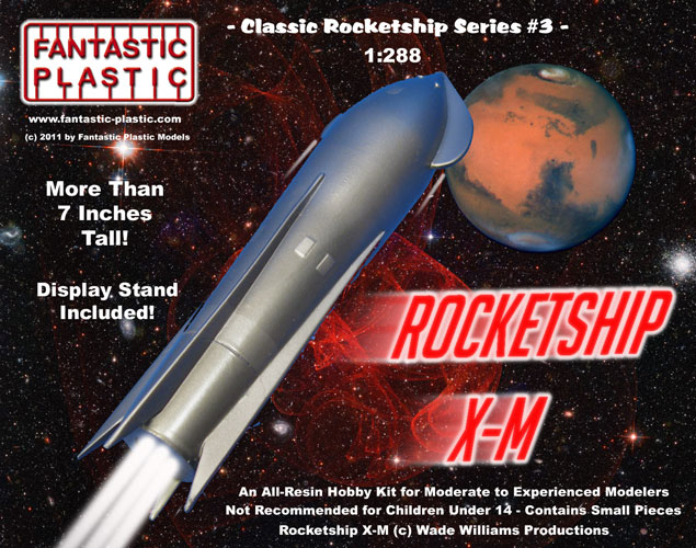 Rocketship X-M - Box Art