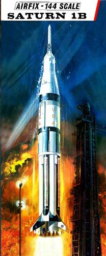 Saturn Ib 1 144 Model Kit By Airfix