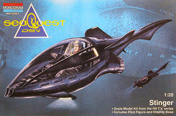 seaQuest Stinger - Monogram - Box Art