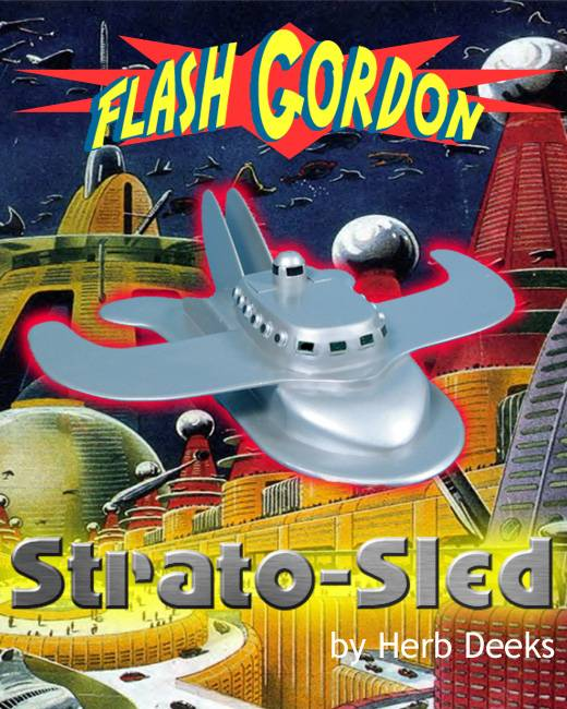 Flash Gordon Strato-Sled - Poster