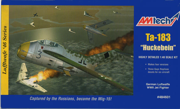 Ta-183 Huckebein 1:48 Model Kit by Amtech