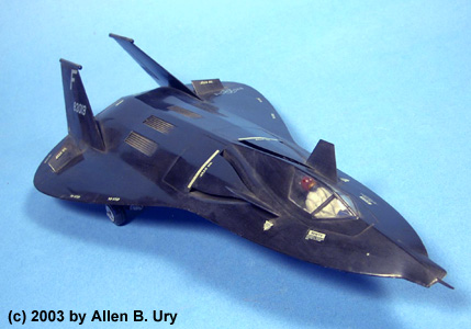 Lockheed F-19 Stealth Fighter - 1:48 - Testors - 1