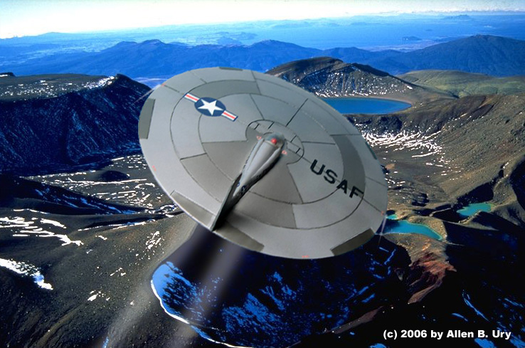 USAF 40-Foot Flying Disc - 6