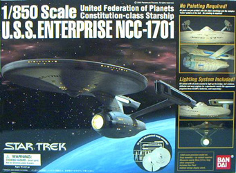 U.S.S. Enterprise Refit Box Art