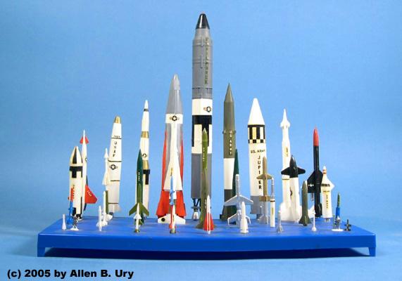 U.S. Space Missiles by Monogram