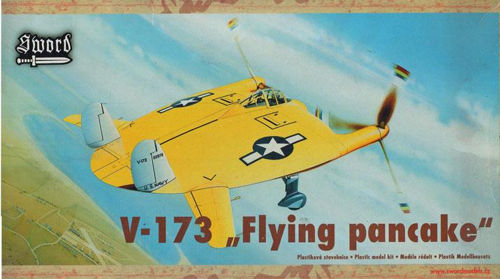 Chance Vought V 173 Flying Pancake 1 48 Model Kit By Sword