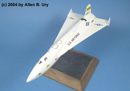X 15 Rocket Plane 15 Delta-Wing Version/1 1:48 Resin Model Kit by Action Hobbies