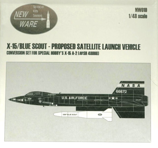 X-15 Blue Scout New Ware Box Art