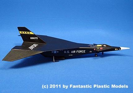 X 15 Rocket Plane North American X-15D by Fantastic Plastic
