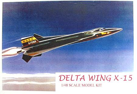 X 15 Cockpit 15 Delta-Wing Version/1 1:48 Resin Model Kit by Action Hobbies