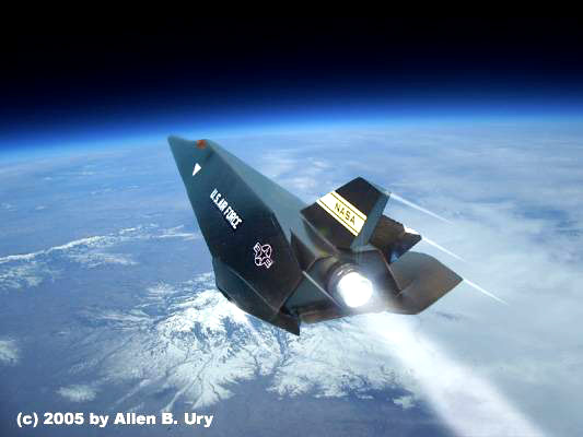 lifting body spacecraft - photo #38