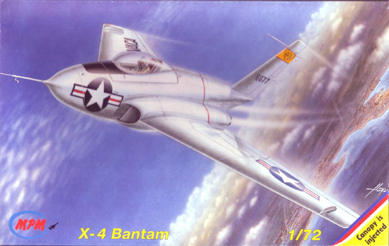 "Douglas X-3 ""Stiletto"" [1/72 - MACH 2] - Page 4 X-4BantamBoxArt"