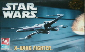 X-Wing Fighter - AMT - 2005 Re-Release Box Art