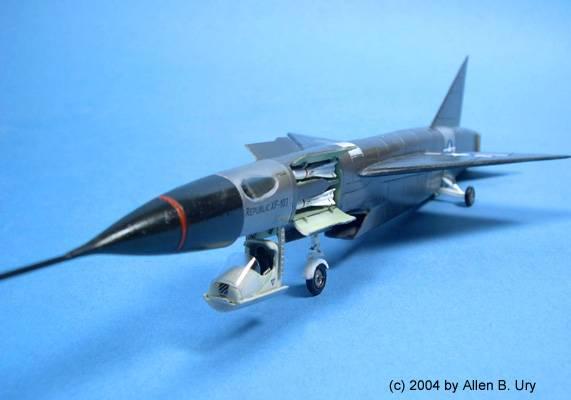 Ouvre boîte Republic XF-103 Thunderwarrior [Anigrand 1/72] XF-103Main2