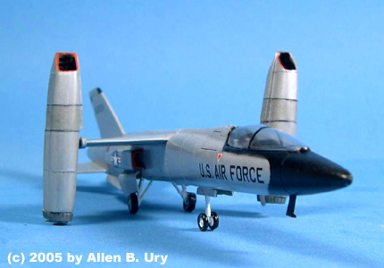 Ouvre-boîte Bell Boeing V22-A [Italeri 1/72] XF-109LowFrontAngle