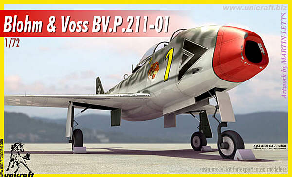 Blohm & Voss BV.P.211.01 - Unicraft Box Art