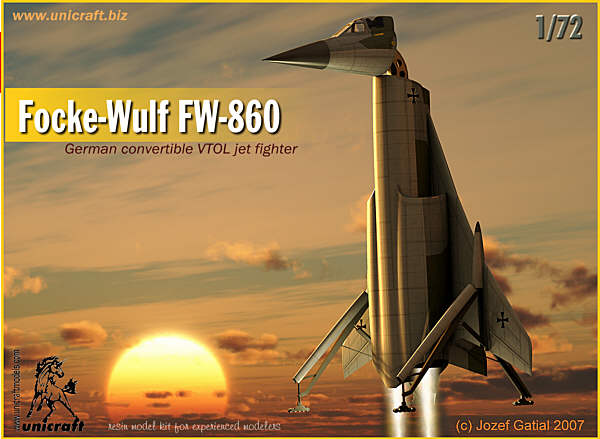 Focke-Wulf FW-860 - Unicraft Box Art