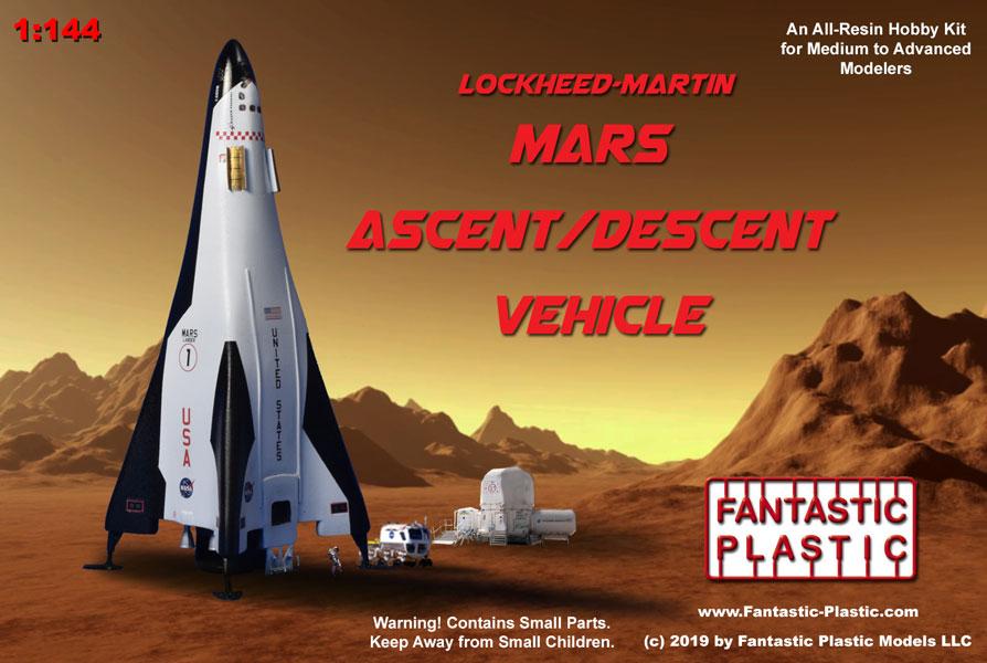 Concept 2 Model D >> Lockheed Mars Lander - 1:144 Resin Model Kit by Fantastic ...