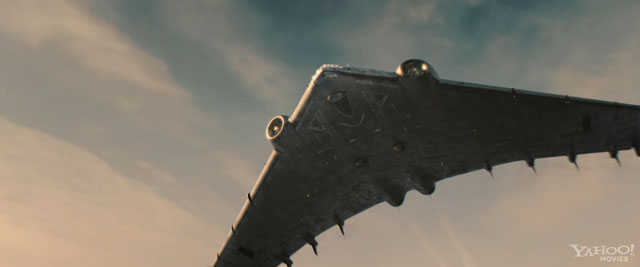 "Hydra Flying Wing from ""Captain America"" (2011) 1:288 Resin Model Kit by  Fantastic Plastic - Fantastic Plastic Models"