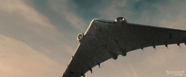 "Hydra Flying Wing from ""Captain America"" (2011) 1:288 Resin Model Kit by  Fantastic Plastic - Fantastic Plastic Models"