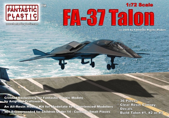 fa37 talon from quotstealthquot 2005 by fantastic plastic