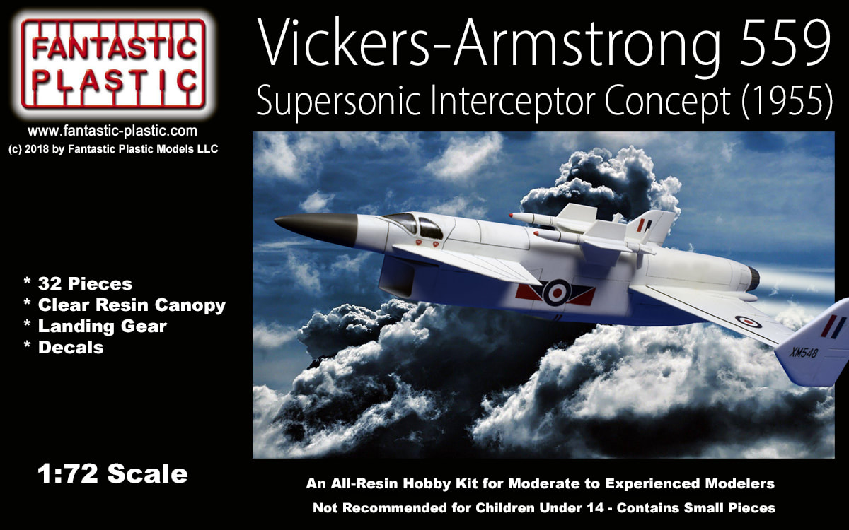 Vickers Armstrong 559 1:72 Model Kit by Fantastic Plastic - Fantastic  Plastic Models