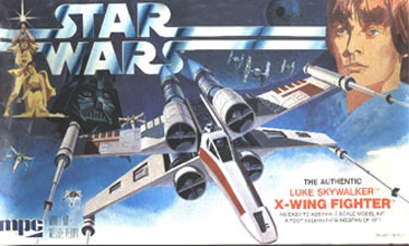 X-Wing Fighter - MPC - Original Box Art