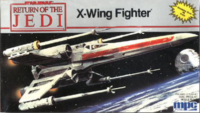 X-Wing Fighter - MPC - Re-Release Box Art