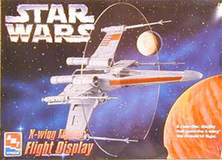 X-Wing Fighter -AMT - Flight Display Box Art