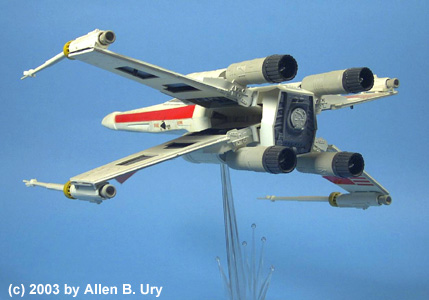 X-Wing Fighter - MPC - 3